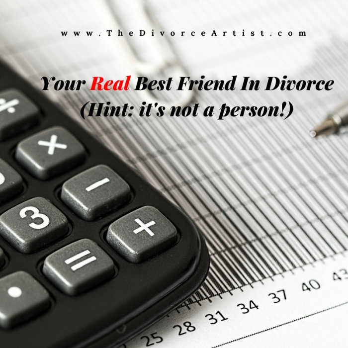Your Real Best Friend In Divorce (Hint_ it's not a person!)